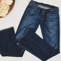 Citizens Of Humanity Womens Ingrid #002 Jeans Flare Low Waist Stretch Sz 28