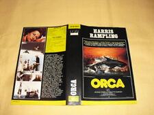 JAQUETTE VHS Orca Richard Harris Charlotte Rampling