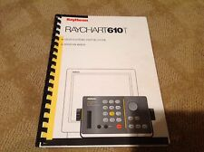 Raytheon RayChart 610T Color Electronic Charting System Operation Manual - 1994