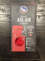 Big Agnes Insulated AXL Air Sleeping Pad Red 20x66 Petite