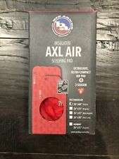 Big Agnes Insulated AXL Air Sleeping Pad Red 20x66 Petite