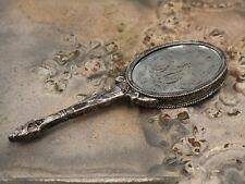Chic Antique Handspiegel alt franz. silber Handspiegel Spiegel Vintage Shabby