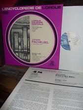 PACHELBEL: 13 organ pieces=Orgel=orgue> M-C Alain / Erato EDO 248 France stereo