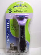 Authentic FURminator deShedding Tool for SHORT HAIR