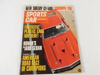 Vintage Original February 1969 Sports Car Graphics Magazine Custom Car Mods