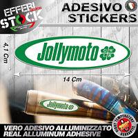 Adesivi / Sticker JOLLYMOTO  HONDA SUZUKI KAWASAKI APRILIA KTM 200°GRADI