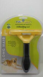 BRAND NEW FURminator Undercoat Deshedding Tool Long hair for Large Dogs SEALDED