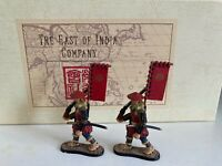 East of India SCA11H - Ashigaru Arquebusiers, 6 Marching with Sashimono flags