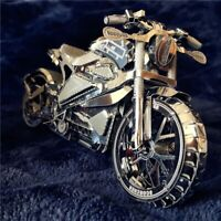 Time for Machine Mechanical Metal 3D Puzzle Vengeance Motorcycle Laser Cut Model