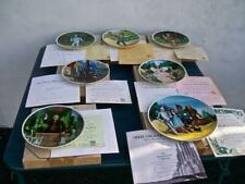* The Wizard Of Oz.* Knowles Collector Plates ( Set Of 7 ) Coa'S & Boxes