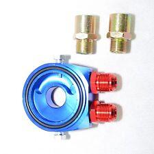 Ölfilter Adapter Sandwich Platte Dash10 mit 2 x Anschlusse Öldruck/temp. 1/8NPT