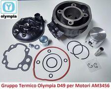 Gruppo Termico Cilindro +Pistone+Testa Olympia D49 per Fantic Motor Caballero 50