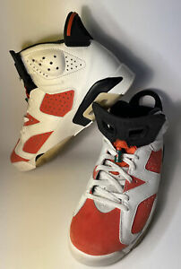 Nike Air Jordan 6 VI Retro Gatorade 384664-145 Sz 10 Mens Orange/White Like Mike