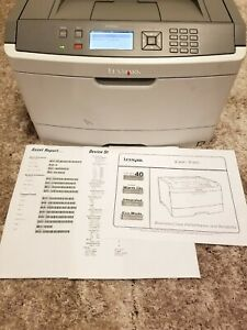 Lexmark E460dn Workgroup Laser Printer FULLY REFURBISHED