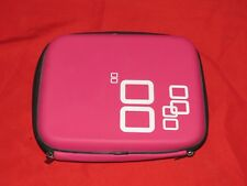 t13 Nintendo DS Video Games Rigid Shell Travel Carrying Case Hot Pink