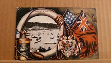 Postcard posted Canada, Nova Scotia Halifax, Regatta on NW Arm