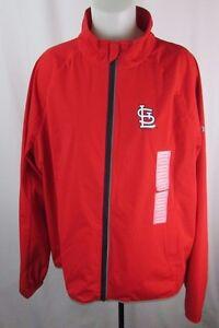 St. Louis Cardinals Women's Full-Zip Lightweight Jacket MLB Size 2XL