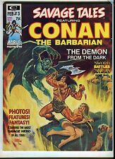 SAVAGE TALES FEATURING CONAN #3 (9.2) 1971