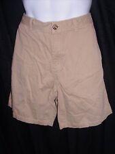 Eddie Bauer Size 33 Beige 100% Cotton Casual Shorts