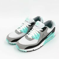 Authentic Nike Air Max 90 Hyper Turquoise Blue White Grey Black Men Size 11.5