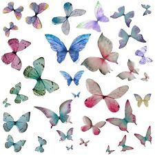 Organza Butterflies Butterfly Embellishment Millinery Scrapbook Cards Jewelry