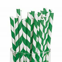 """Solid Gold Paper Straws 8/"""" Biodegradable Compostable Eco-Friendly 6mm Bore 20cm"""
