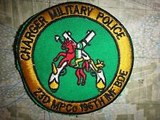 Vietnam War Patch CHARGER MILITARY POLICE 23rd MP Co 196th Infantry Brigade