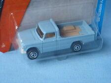 MATCHBOX 1962 NISSAN JUNIOR pick-up bleu jouet voiture modèle 70 mm de long aux Etats-Unis BP