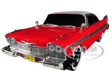 "1958 PLYMOUTH FURY EVIL VERSION ""CHRISTINE"" 1/24 DIECAST CAR BY GREENLIGHT 84082"