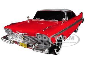 "1958 PLYMOUTH FURY EVIL VERSION ""CHRISTINE"" 1/24 DIECAST CAR BY GREENLIGHT 84082"