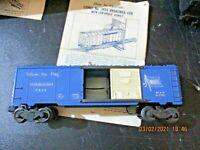 LIONEL No. 3424 BRAKEMAN CAR scala 0 anni 50 originale funzionante