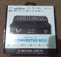 Ematic AT103B Digital Converter Box with DVR Recording