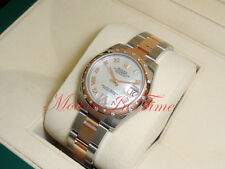 Rolex Datejust 31mm Stainless Steel & Rose Gold White MOP VI Roman Oyster 178341