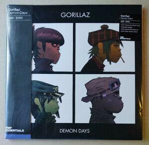 Gorillaz sealed VMP red vinyl 2LP Demon Days + stickers, OBI. Vinyl Me, Please