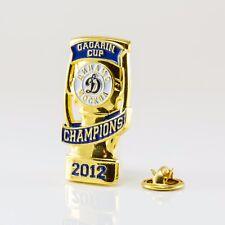 KHL Dynamo Moscow winner of Gagarin Cup 2012 pin, badge, lapel, hockey