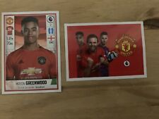 Rookie Mason Greenwood Panini Football 2020 Stickers - Premier League
