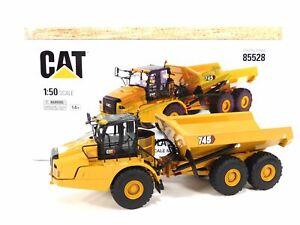 Cat Caterpillar 745 Articulated Truck 1:50 Scale Diecast Masters 85528