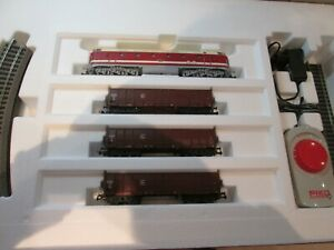 Piko 57138 Startset BR 119 mit Güterzug und Bettungsgleis H0