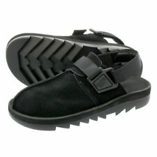 Reebok Japan Beatnik 29cm BLACK/BLACK Brand New Suede Sandal Super comfortable
