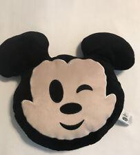 Disney Emoji  (Wink) Plush Mickey Pillow