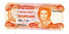 Bahamas … P-45a … 5 Dollars … 1974 … *AU*