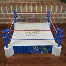 WWF SUPERSTARS SLING 'EM - FLING 'EM RING VINTAGE LJN FIGURE PLAYSET - RESTORED