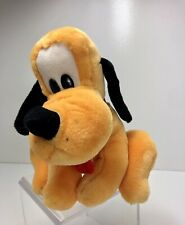 "Vintage Disney Parks Pluto Plush Sitting Dog 10"" Walt Disney World Disneyland 1"