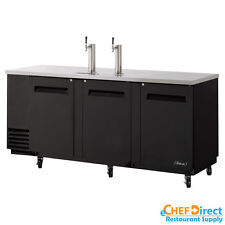 "Turbo Air TBD-4SB 90"" 3  Door Underbar Beer Dispenser"