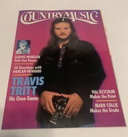 Vintage Country Music Magazine January/February 1994 Travis Tritt Cover