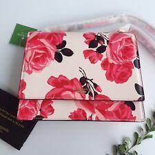 BNWT Kate Spade Cameron Street Roses Sophie Handbag Clutch Purse 🌹
