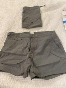 New Gray Sunspel Swim shorts - Size S/ 32 - Retails $195