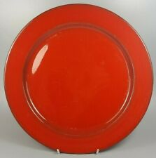 VILLEROY AND BOCH GRANADA ROUND SERVING PLATE / CHARGER / CHOP PLATE 31CM