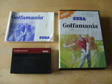 GENUINE SEGA MASTER SYSTEM GAME - GOLFAMANIA - COMPLETE - Switch Added ?