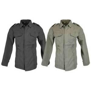 Moleskin Jacket German Army Style Combat Military Tactica Long Sleeve Work Shirt